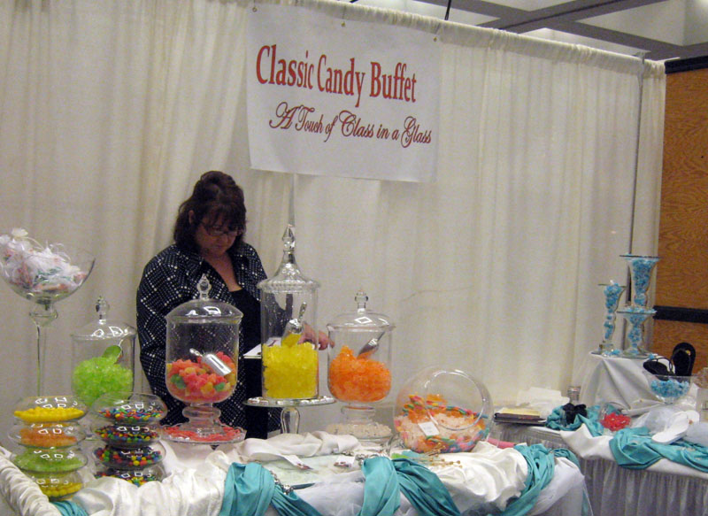 Candy bar ideas for wedding reception for Candy bar for weddings receptions